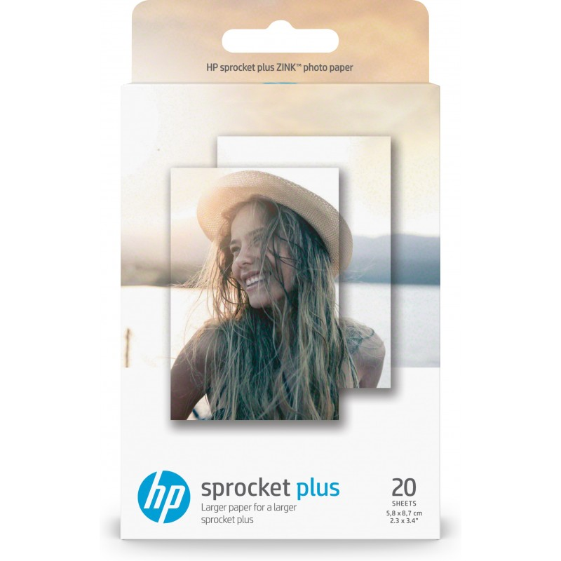 HP - Sprocket Plus papel fotográfico