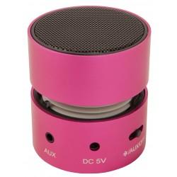 Urban Factory - Mini Speaker Altavoz monofónico portátil Rosa 3 W