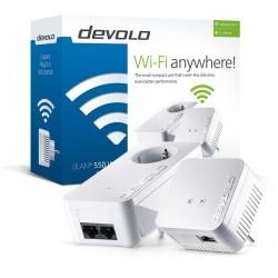 Devolo - dLAN 550 WiFi Starter Kit 100 Mbit/s Ethernet Blanco 2 pieza(s)