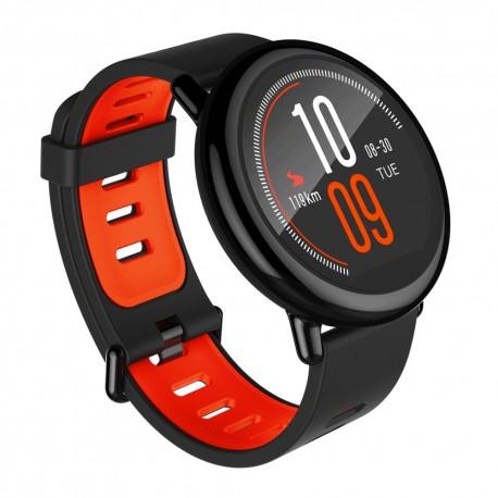"Xiaomi - Amazfit Sport 1.34"" LCD GPS (satélite) Negro, Rojo reloj inteligente"