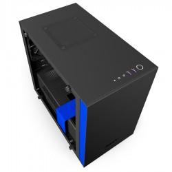 NZXT - H200i Mini Tower Negro, Azul