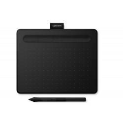 Wacom - Intuos S Bluetooth tableta digitalizadora Negro 2540 líneas por pulgada 152 x 95 mm USB/Bluetooth