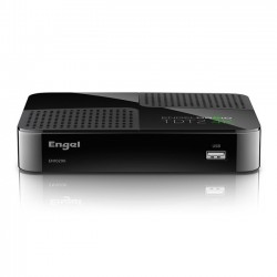 Engel Axil - EN1020K tV set-top boxes Ethernet (RJ-45), Satélite, WLAN Full HD Negro