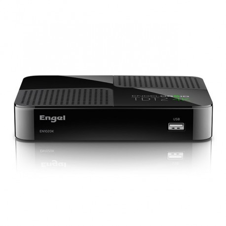 Engel Axil - EN1020K Ethernet (RJ-45), Satélite, WLAN Alta Definición Total Negro tV set-top boxes