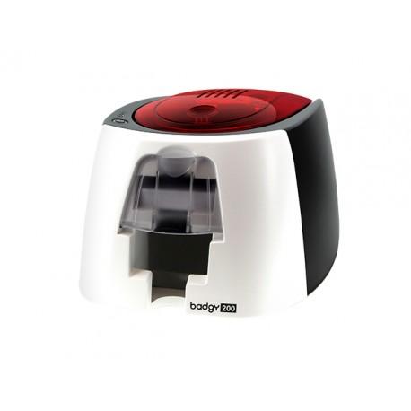 Evolis - Badgy200 Pintar por sublimación/Transferencia térmica Color 260 x 300DPI impresora de tarjeta plástica