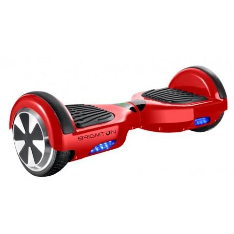 Brigmton - BBOARD-62BT 18kmh 4400mAh Negro, Rojo scooter auto balanceado