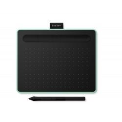 Wacom - Intuos S Bluetooth tableta digitalizadora Verde, Negro 2540 líneas por pulgada 152 x 95 mm USB/Bluetooth
