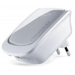 Devolo - WiFi Repeater Repetidor de red 10,100 Mbit/s Plata, Blanco