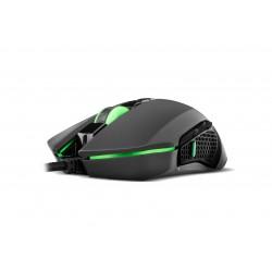BG - Hunter ratón USB Óptico 3200 DPI Ambidextro
