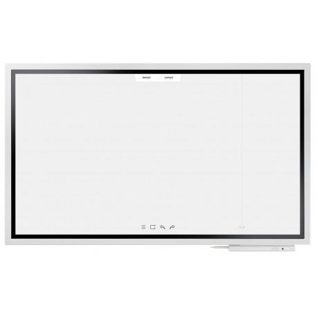"Samsung - WM55H 55"" 3840 x 2160Pixeles Pantalla táctil Blanco pizarra y accesorios interactivos"