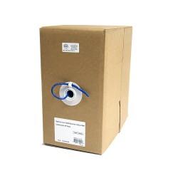 StarTech.com - Rollo Bobina de 304,8m de Cable de Red Bulk a Granel UTP Cat5e Azul Sólido