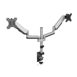 V7 - Soporte para monitores con ajuste manual doble