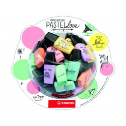 STABILO - Bombonera 50 Boss Mini Pastel love 07/50-07