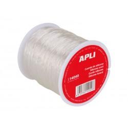 APLI - Bobina de cuerda de silicona semi-elástica de 0,7 mm x 100 m 14049