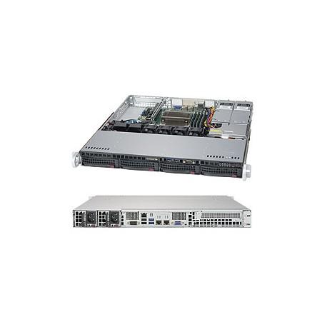 Supermicro - 5019S-MR Intel C236 LGA 1151 (Socket H4) 1U Negro