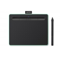 Wacom - Intuos M Bluetooth tableta digitalizadora 2540 lpi 216 x 135 mm USB/Bluetooth Black,Green