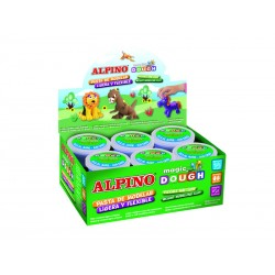 Alpino - APO BOTE MAGIC DOUGH 28G MARRÓN DP000184