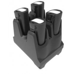 Zebra - SAC-TC8X-4SCHG-01 cargador de batería Negro Cargador de baterías para interior