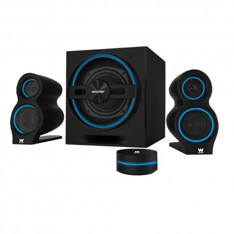 Woxter - SO26-057 24W Negro sistema de audio para el hogar
