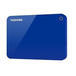 Toshiba - Canvio Advance disco duro externo 1000 GB Azul