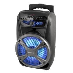 NGS - Wild Mambo 35 W Sistema de megafonía con ruedas Negro, Gris