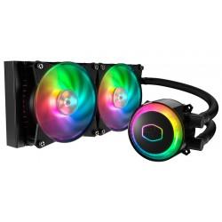 Cooler Master - MASTERLIQUID ML240R RGB refrigeración agua y freón Procesador