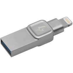 Kingston Technology - Bolt Duo, 32GB unidad flash USB USB Type-A / Lightning 3.0 (3.1 Gen 1) Plata
