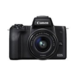 Canon - EOS M50 + EF-M 15-45mm IS STM MILC 24,1 MP CMOS 6000 x 4000 Pixeles Negro