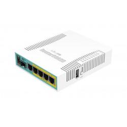Mikrotik - hEX PoE router Blanco