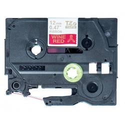 Brother - TZE-RW34 cinta para impresora de etiquetas Oro sobre rojo