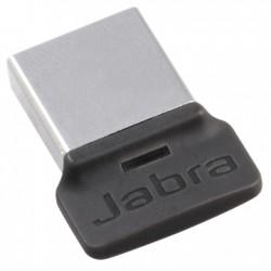 Jabra - LINK 370 UC transmisor de audio Bluetooth USB 30 m Negro, Plata