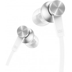 Xiaomi - Mi In-Ear Headphones Basic auriculares para móvil Binaural Dentro de oído Plata, Blanco Alámbrico