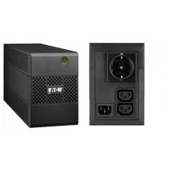 Eaton - 5E 650I DIN sistema de alimentación ininterrumpida (UPS) 650 VA 3 salidas AC Línea interactiva