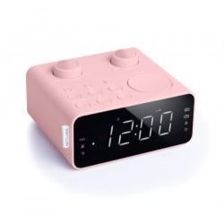 Muse - M-17 CPK radio Reloj Analógico y digital Rosa