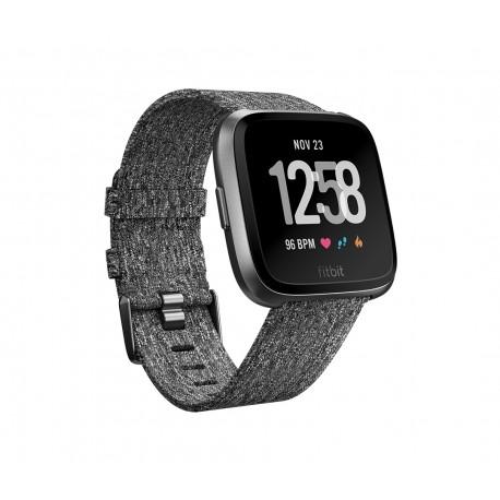 Fitbit - Versa LCD GPS satlite Negro Gris reloj inteligente