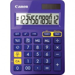 Canon - LS-123K calculadora Escritorio Pantalla de calculadora Púrpura