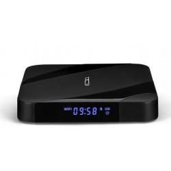 Billow - MD09TV 4K Ultra HD 16GB Wifi Ethernet Negro caja de Smart TV