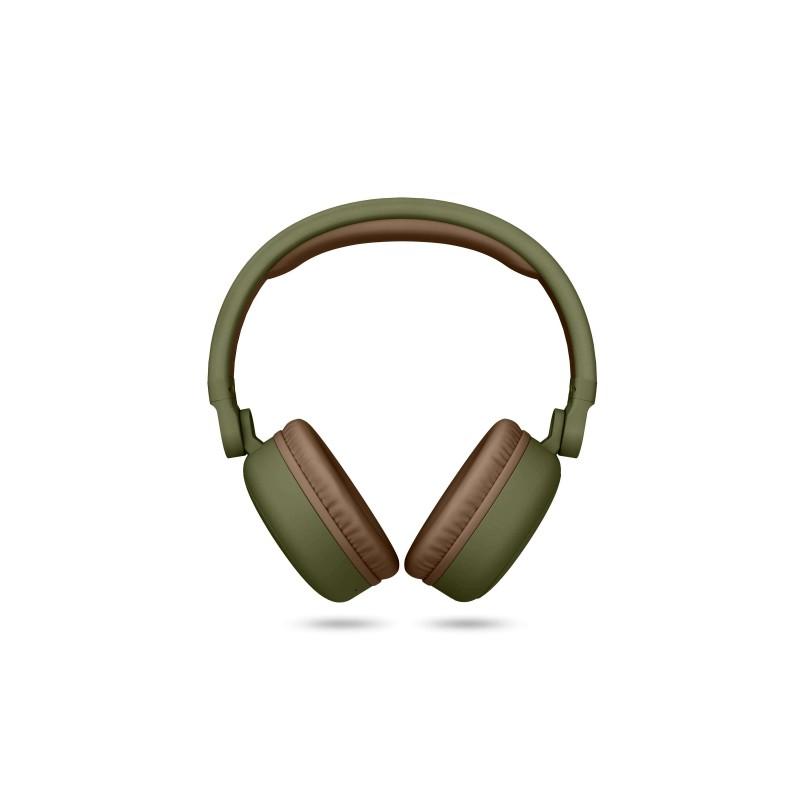 efd8e0ad709 Energy Sistem - 445615 Diadema Binaural Inalmbrico y almbrico Marrn Verde  auriculares para mvil ...