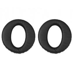 Jabra - 14101-41 almohadilla para auriculares Negro Cuero 2 pieza(s)