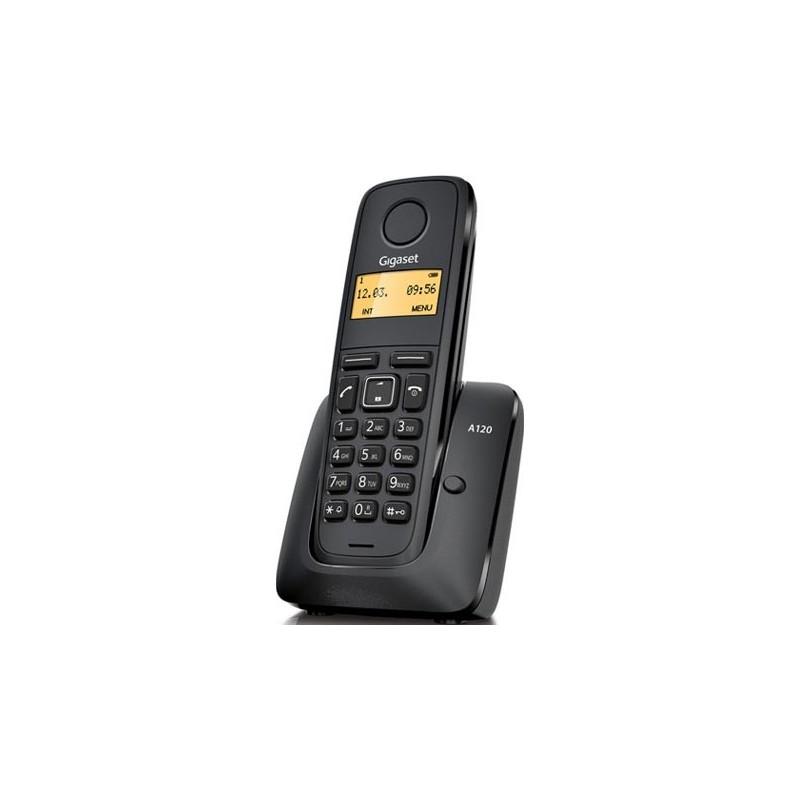 Gigaset - A120 Teléfono DECT Negro