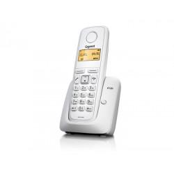 Gigaset - A120 Teléfono DECT Blanco Identificador de llamadas
