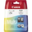 Canon - PG-540 / CL-541 Original Negro, Cian, Magenta, Amarillo 2 pieza(s)