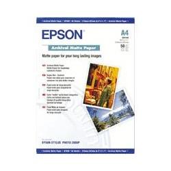 Epson - Archival Matte Paper, DIN A3, 189 g/m², 50 hojas