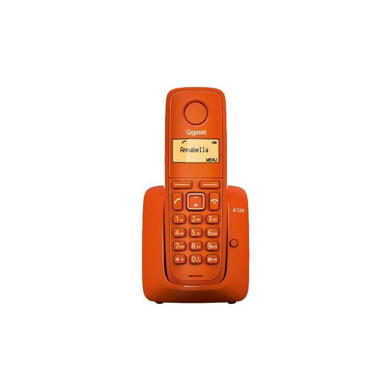 Gigaset - A120 Teléfono DECT Naranja