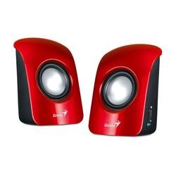 Genius - SP-U115 altavoz De 1 vía 1 W Rojo Alámbrico