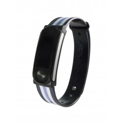 "Leotec - LEPFIT10K4 Wristband activity tracker 0.96"" OLED Inalámbrico IPX7 Negro, Violeta, Blanco rastreador de act"