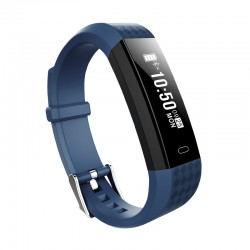 "Brigmton - BSPORT-B1-A Wristband activity tracker 0.87"" OLED Inalámbrico IP67 Negro, Azul rastreador de actividad"