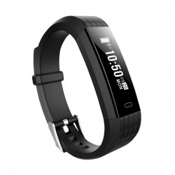 "Brigmton - BSPORT-B1-N Wristband activity tracker 0.87"" OLED Inalámbrico IP67 Negro rastreador de actividad"