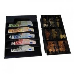 APG Cash Drawer - VPK-15B-26-BX bandeja para cajón portamonedas Negro