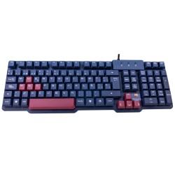 Mars Gaming - MKBC teclado USB QWERTY Español Negro, Granate